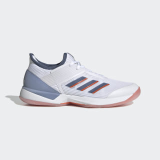 Adizero Ubersonic 3 Shoes Cloud White / Tech Ink / True Orange EF1154