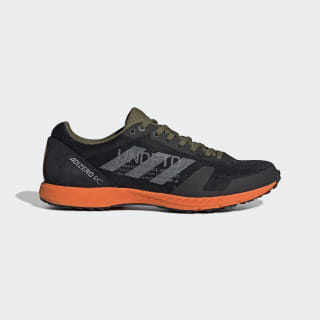 Кроссовки для бега adidas x UNDEFEATED Adizero black-white / light grey heather / orange G26648