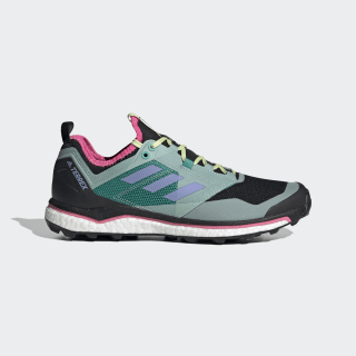 Terrex Agravic XT Trail Running Shoes Core Black / Light Purple / Glory Green EH0075