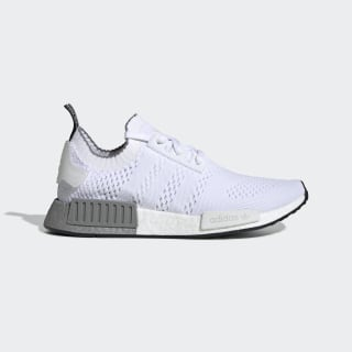 Tenis NMD_R1 Primeknit Cloud White / Cloud White / Grey Three EE5074