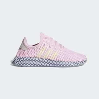 Deerupt Runner Shoes Clear Pink / Hi-Res Yellow / Raw Steel CG6091