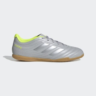 Copa 20.4 Indoor Shoes Grey Two / Matte Silver / Solar Yellow EF8351