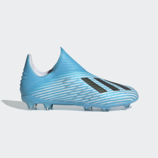 X 19+ Firm Ground Cleats Bright Cyan / Core Black / Shock Pink EE3697