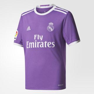 Camiseta de Real Madrid Away RAY PURPLE/CRYSTAL WHITE AI5163