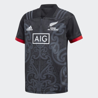 All Blacks Maori Jersey Black / Grey DN5869
