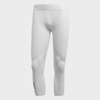 Collant 3/4 Alphaskin Sport White CD7189