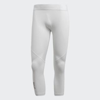 Leggings Alphaskin Sport 3/4 White CD7189