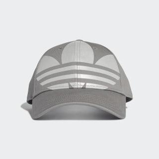 Adicolor Trefoil Baseball Kappe Charcoal Solid Grey / Silver Metallic FT8921