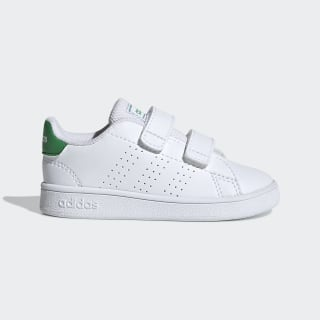Advantage Shoes Cloud White / Green / Grey Two EF0301
