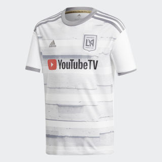 Los Angeles FC Away Jersey Youth White DP3978
