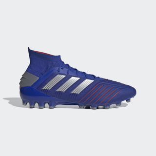 Predator 19.1 AG Fußballschuh Bold Blue / Silver Met. / Football Blue D98053