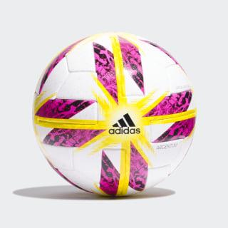 Pelota Oficial Partidos Argentina 18 White / Black / Solar Yellow / Blue CW5317