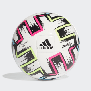 Ballon Ekstraklasa Club White / Black / Signal Green / Bright Cyan FH7321
