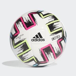 Balón Ekstraklasa Club White / Black / Signal Green / Bright Cyan FH7321