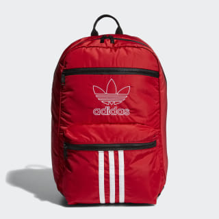 National 3-Stripes Backpack Bright Red CL5468