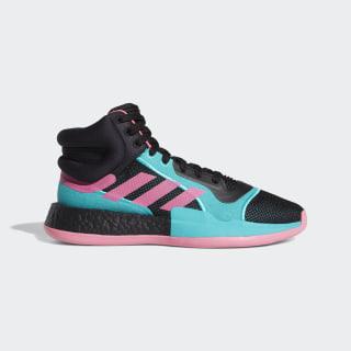 Баскетбольные кроссовки Marquee Boost core black / team shock pink / hi-res aqua EH2373