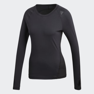 Alphaskin Sport Long-Sleeve Top Black CF6555