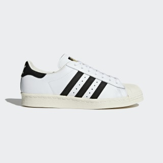 94b1a2f876d2 Superstar 80s Shoes White   Core Black   Chalk White G61070