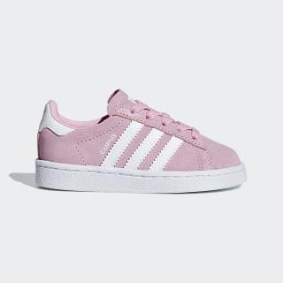 Campus Schuh Light Pink / Ftwr White / Ftwr White CG6658