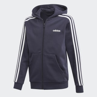 Essentials 3-Stripes Hoodie Legend Ink / White EI7997