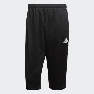Core 18 3/4 Pants Black / White CE9032