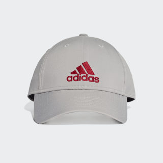 Gorra Ligera Classic Six-Panel mgh solid grey/mgh solid grey/active maroon DZ9323
