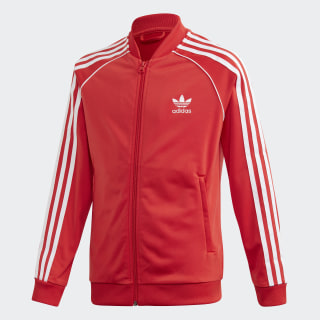 SST Track Top Lush Red / White FM5662