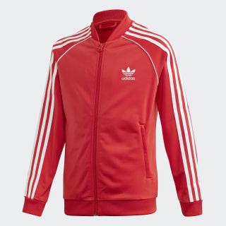 SST træningsjakke Lush Red / White FM5662