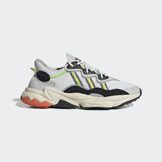 Scarpe Ozweego Cloud White / Solar Green / Cloud White EF9627