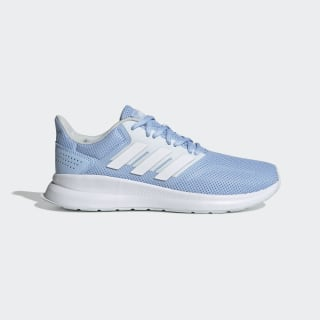 Zapatillas Runfalcon Glow Blue / Cloud White / Blue Tint EE8167
