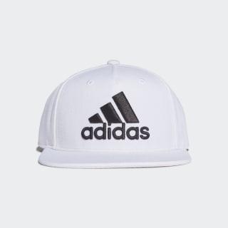 Snapback Logo Cap White / White / Black FP8072