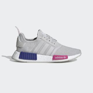รองเท้า NMD_R1 Grey One / Grey One / Shock Pink EE6674