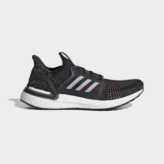 Кроссовки для бега Ultraboost 19 core black / glow blue / core black G54011