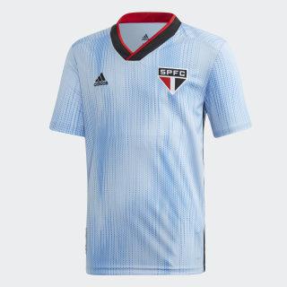 Camisa São Paulo FC 3 Glow Blue / Black / Red DZ5629