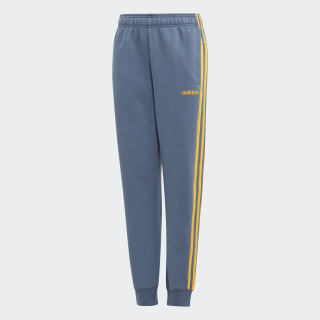Essentials 3-Stripes Broek Tech Ink / Active Gold EI8006