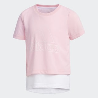 Polera Light Pink / White / White EH4080