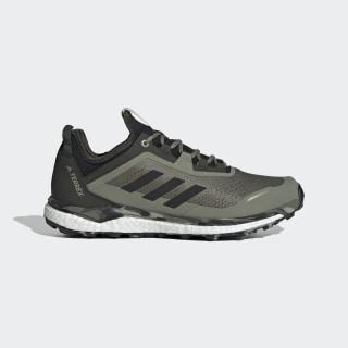 Terrex Agravic Flow Shoes Legacy Green / Core Black / Savannah EG3057