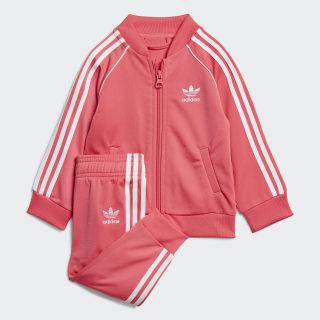 Спортивный костюм SST real pink s18 / white ED7670