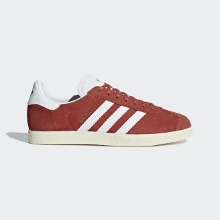 Gazelle Shoes Red / Cloud White / Cream White B37944