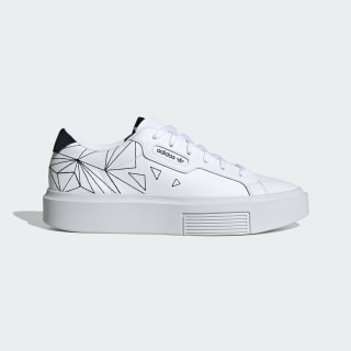Zapatilla adidas Sleek Super Cloud White / Core Black / Grey One EH1391