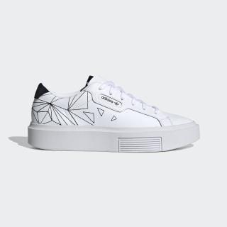 adidas Sleek Super Schuh Cloud White / Core Black / Grey One EH1391