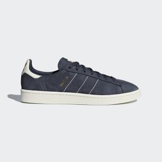 Scarpe Campus Trace Blue/Chalk White/Gold Metallic CQ2047