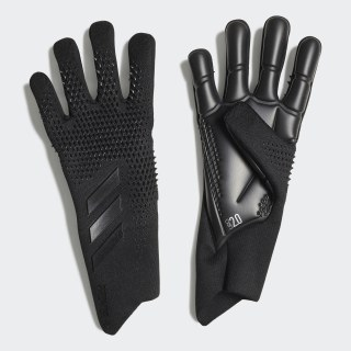 Guantes de portero Predator 20 Pro Black / Night Metallic FN1485