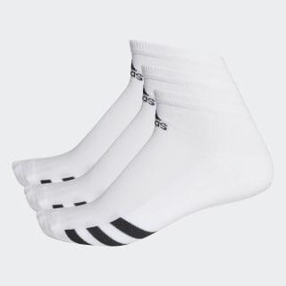 Meias pelo Tornozelo – 3 pares White CF8459