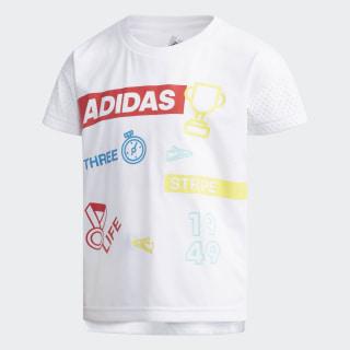 Camiseta LG SS TEE white / black DW4079