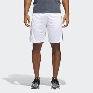 D2M 3-Stripes Shorts White / Black BR1459