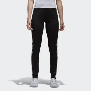 Pantalón D2M 3 Rayas Cuffed BLACK/WHITE BK2623