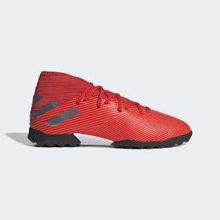 Calzado de Fútbol Nemeziz 19.3 Césped Artificial Active Red / Silver Met. / Solar Red F99941