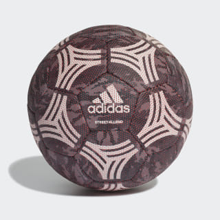 Tango Street Allround Football Carbon / Black / Grey Three / Semi Solar Red DY2574