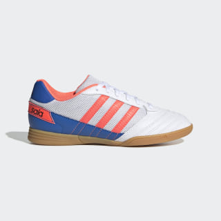 Super Sala Voetbalschoenen Cloud White / Signal Coral / Glory Blue FV2633